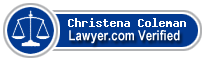Christena Silvey Coleman  Lawyer Badge