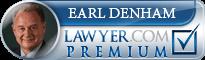 Earl L Denham  Lawyer Badge