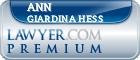 Ann Giardina Hess  Lawyer Badge