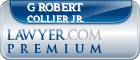 G Robert Collier Jr.  Lawyer Badge