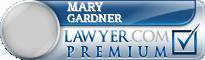 Mary Beth Gardner  Lawyer Badge