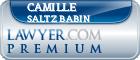 Camille Saltz Babin  Lawyer Badge