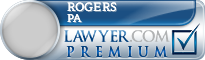 Rogers Towers Pa  Lawyer Badge