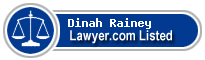Dinah Rainey Lawyer Badge