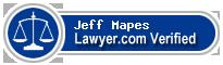 Jeff C Mapes  Lawyer Badge