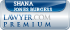 Shana Jones Burgess  Lawyer Badge