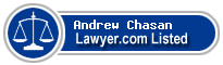 Andrew Chasan Lawyer Badge