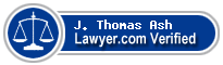 J. Thomas Ash  Lawyer Badge