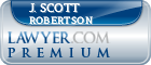 J. Scott Robertson  Lawyer Badge