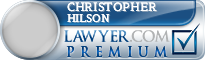 Christopher T. Hilson  Lawyer Badge