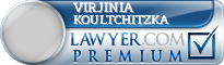 Virjinia Koultchitzka  Lawyer Badge