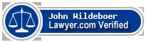 John L Wildeboer  Lawyer Badge