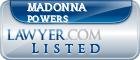 Madonna Powers Lawyer Badge