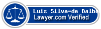 Luis Silva-de Balboa  Lawyer Badge