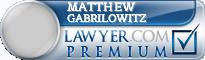Matthew Gabrilowitz  Lawyer Badge