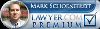 Mark A. Schoenfeldt  Lawyer Badge
