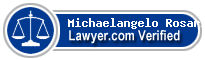 Michaelangelo Rosario  Lawyer Badge