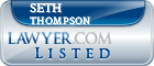 Seth Thompson Lawyer Badge