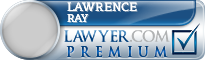 Lawrence E Ray  Lawyer Badge
