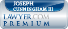 Joseph P Cunningham III  Lawyer Badge
