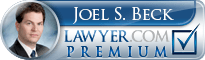 Joel S. Beck  Lawyer Badge