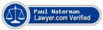 Paul K Waterman  Lawyer Badge