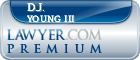 D.J. Young III  Lawyer Badge