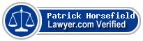 Patrick J Horsefield  Lawyer Badge