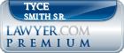 Tyce S. Smith Sr.  Lawyer Badge