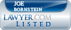 Joe Bornstein Lawyer Badge