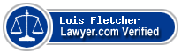 Lois K Fletcher  Lawyer Badge