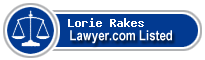 Lorie Rakes Lawyer Badge