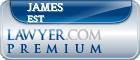 James F Burns Rl Est  Lawyer Badge