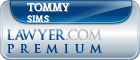 Tommy L. Sims  Lawyer Badge