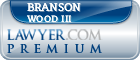 Branson L Wood III  Lawyer Badge
