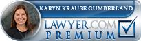 Karyn Krause Cumberland  Lawyer Badge