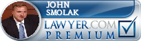 John Smolak  Lawyer Badge