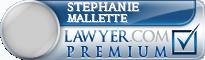 Stephanie L Mallette  Lawyer Badge