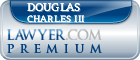 Douglas Charles III  Lawyer Badge