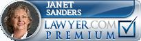 Janet Sanders  Lawyer Badge