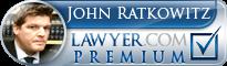 John J Ratkowitz  Lawyer Badge