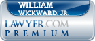 William J Wickward, Jr.  Lawyer Badge