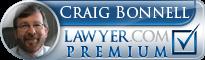 Craig S. Bonnell  Lawyer Badge