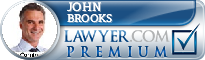 John Perry Brooks  Lawyer Badge