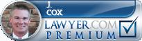 J. Randall Cox  Lawyer Badge