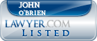 John O'Brien Lawyer Badge