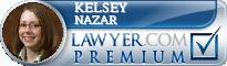 Kelsey Patterson Nazar  Lawyer Badge