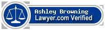 Ashley Elizabeth Browning  Lawyer Badge