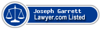 Joseph Garrett Lawyer Badge