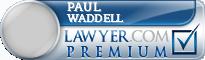 Paul D. Waddell  Lawyer Badge